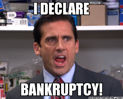 declaring bankruptcy in illinois